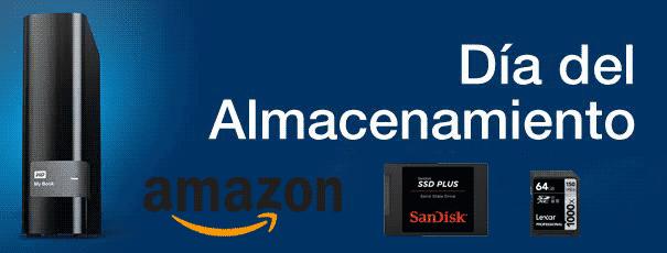 Día del almacenamiento en Amazon.