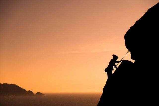 """""""Llegando a la Cima"""" por Iván Lyco, con Fuji X-T1 + XF 18-55mm."""