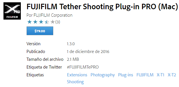 Fujifilm Tether Shooting PRO