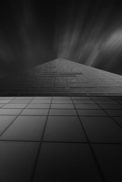 """""""Torre Cristal II"""" por Juan Francisco Melero, con Fuji X-T1."""