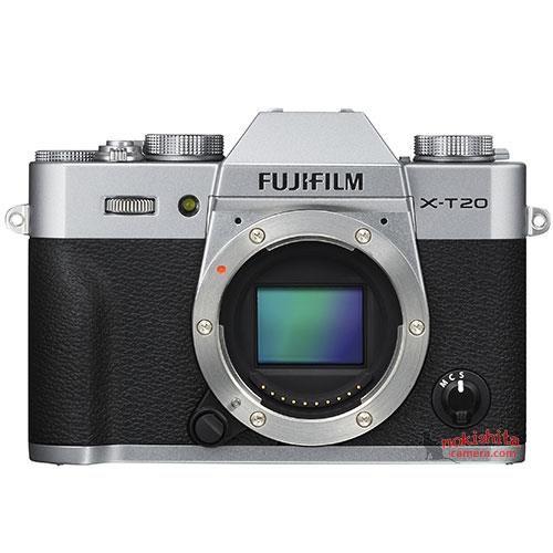 Fujifilm X-T20 delante.