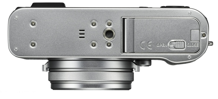 Fuji X100F plata abajo