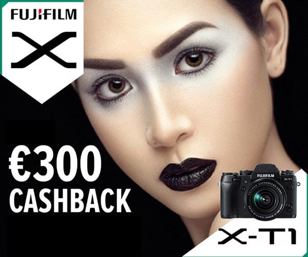 CAshback de 300€ por la X-T1