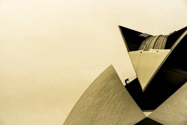 """""""Ciudad de las Artes y las Ciencias, Valencia"""" por Jesús Soriano, con Fuji X-E1."""