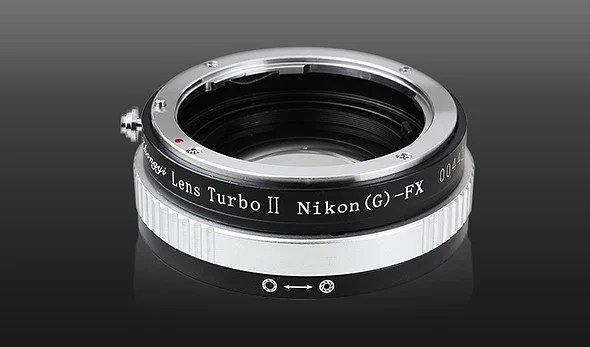 Mitakon Lens Turbo II Nikon-Fuji.