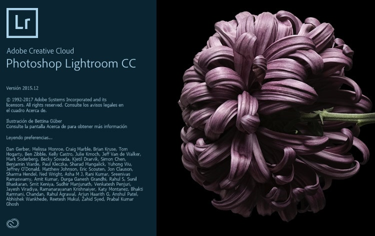 Lightroom CC 2015.12