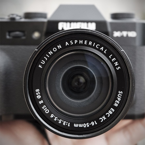 Fujinon XC 16-50mm F3.5-5.6 OIS II en X-T10