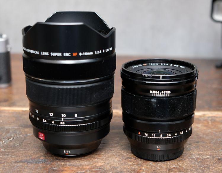 XF 8-16mm F2.8 vs XF 16mm F1.4