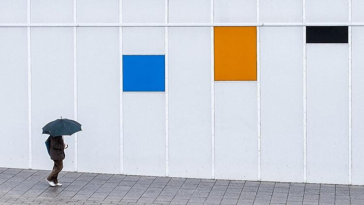 """Una de las fotos de la serie """"Lluvia"""" de Sergio Mora-Gil."""