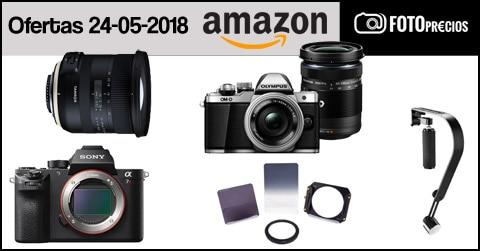 Ofertas fotográficas en Amazon.