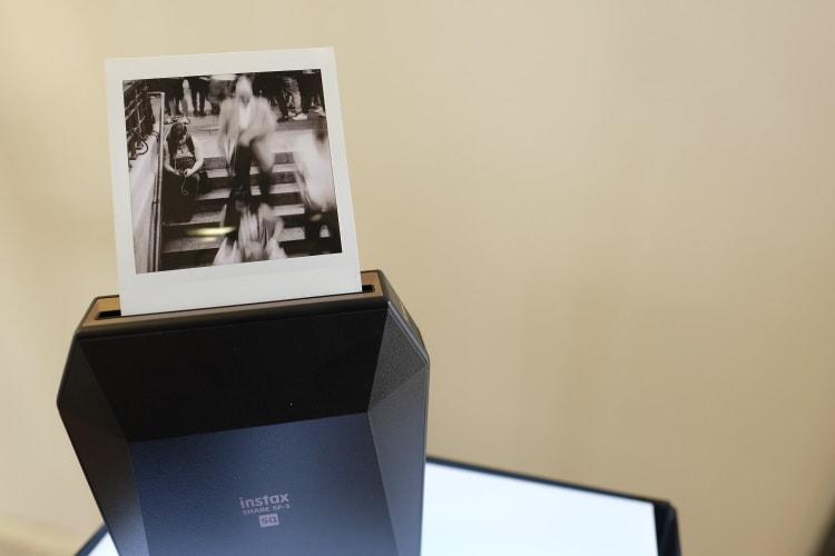 Presentación de la impresora Instax Share SP-3.