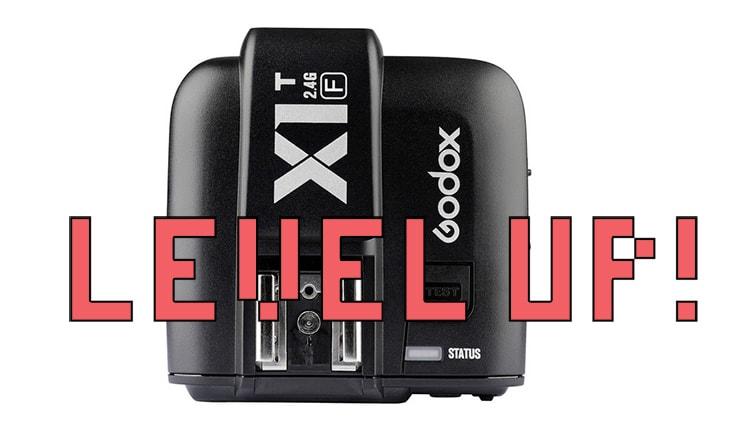 Actualización de firmware Godox X1T-F.