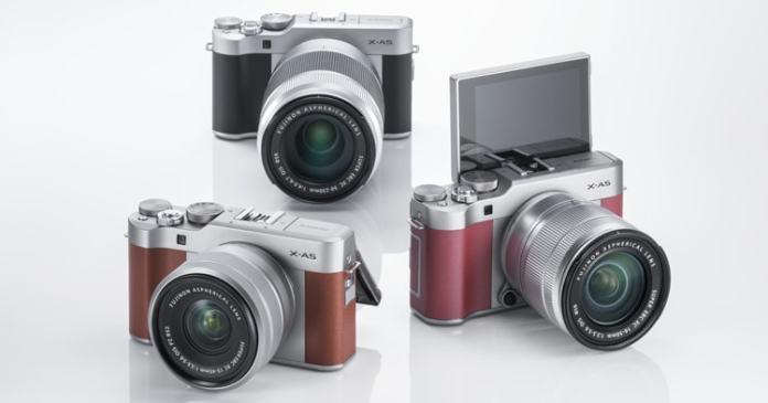 La Fujifilm X-A5 estará disponible en tres colores: negro, marrón y rosa.