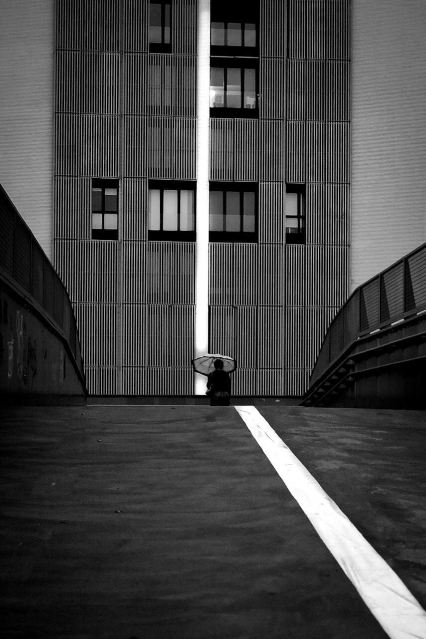 """""""The white line"""" por Sergio Mora-Gil. Fujifilm X100T."""