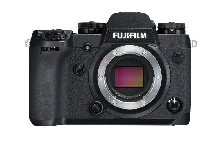 Fujifilm X-H1 sensor