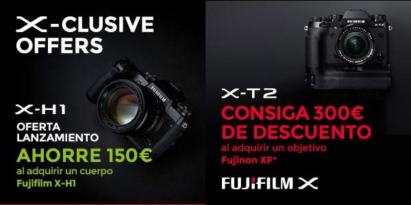 Ofertas Fujifilm X-H1, X-T2