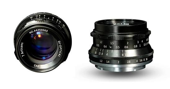 7Artisans 35mm f/1.2 para Fuji.
