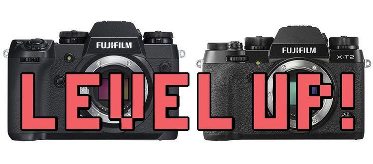 Nuevo firmware X-H1 y X-T2.