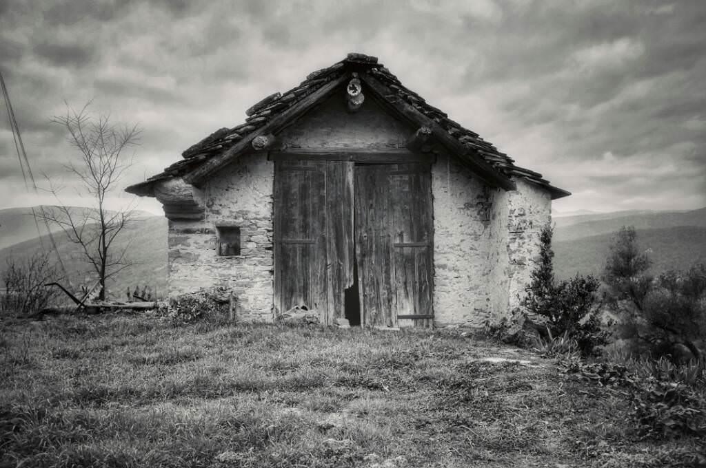 """Una cabaña"" por Jorge Slav. Fujifilm X100."