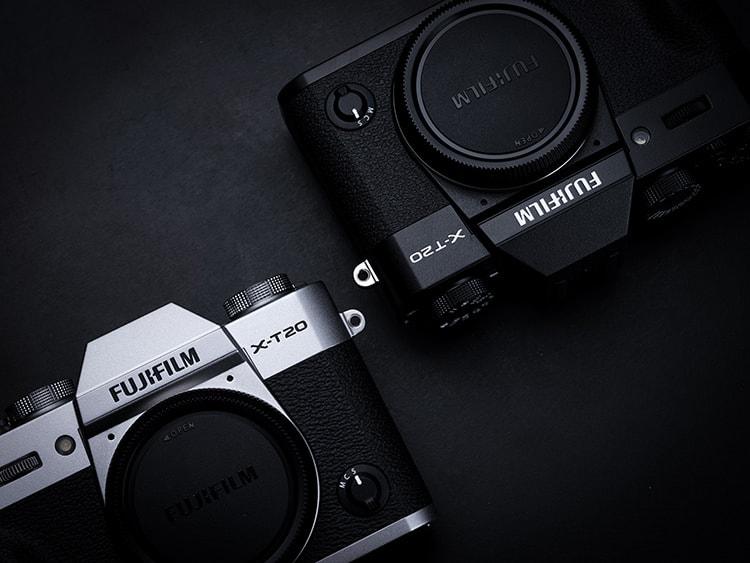 La hipotética Fujifilm X-T100 será presumiblemente muy similar a la X-T20, pero con una empuñadura más pronunciada.