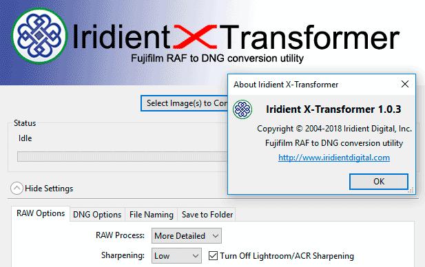 Iridient X-Transformer 1.0.3