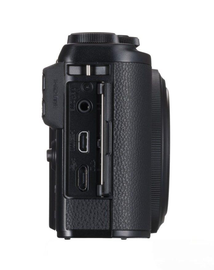 Fujifilm XF10 lateral.