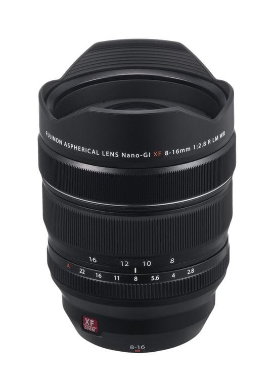 Fujinon XF 8-16mm F2.8.