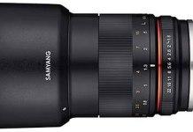 Samyang 85mm f/1.8 para Fuji.