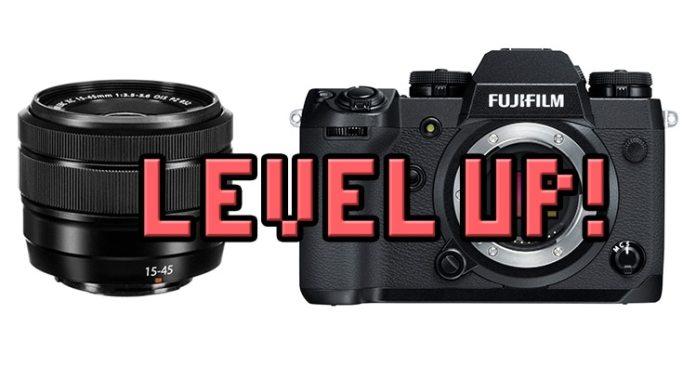 Actualización de firmware para X-H1 y XC 15-45mm.
