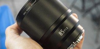 Viltrox 85mm f/1.8 con autoenfoque para Fuji X.