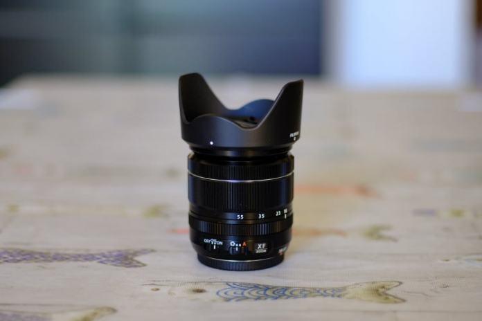 Bokeh del Canon EF 50mm f/1.8 STM en la X-T2.