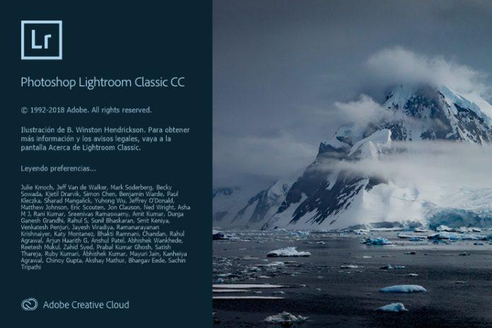 Lightroom Classic CC 8.0.