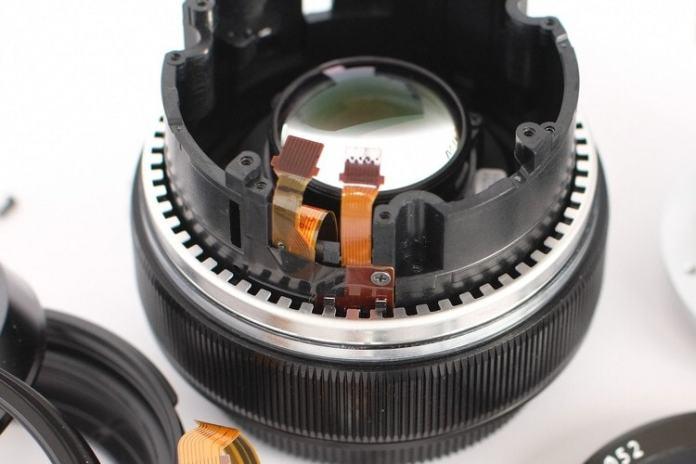 Desmontaje del Fujinon XF 35mm F1.4 R por Yukosteel.