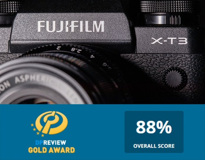 Puntuación récord de la X-T3 para Fujifilm en DPreview.