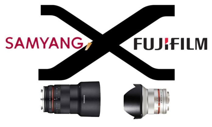 Samyang X Fujifilm.