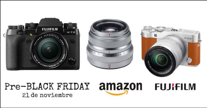 Semana del Black Friday de Fuji en Amazon