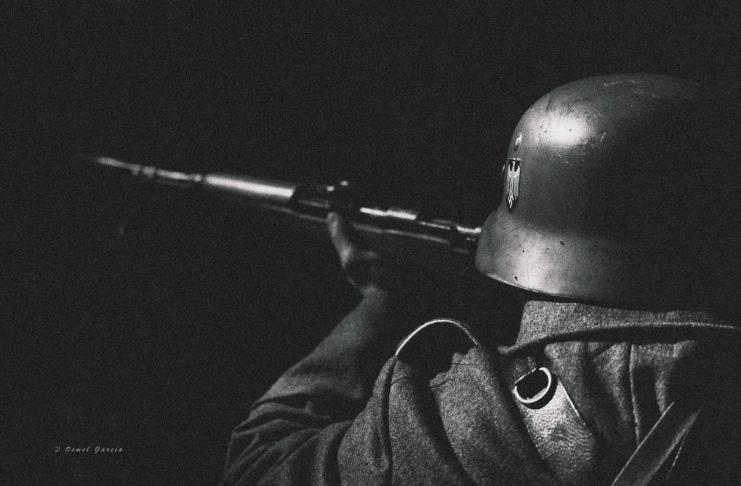 """La batalla del Bosque de Hürtgen"" por Osmel García. Fujifilm X-T2 + XF50-140mmF2.8 R LM OIS WR."