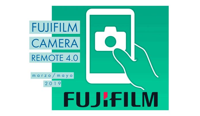 Anuncio de Fujifilm Camera Remote 4.0