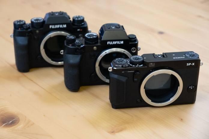 Prototipos de cámaras Fujifilm GFX.