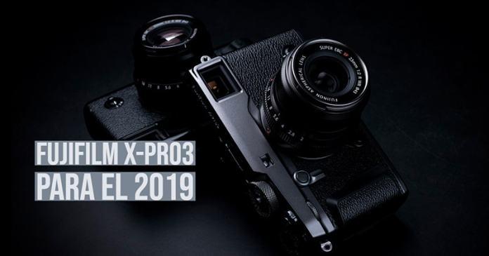 Fujifilm X-Pro3 para el 2019.