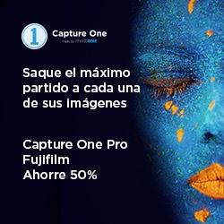 Promoción Capture One Pro Fujifilm al 50%.