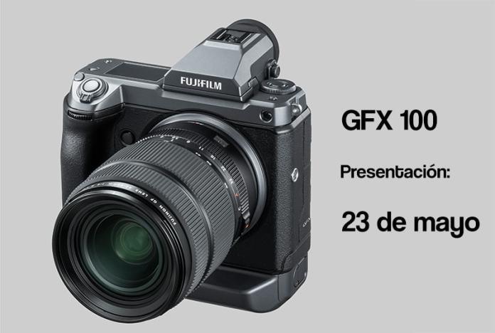 GFX 100 para el 23 de mayo.