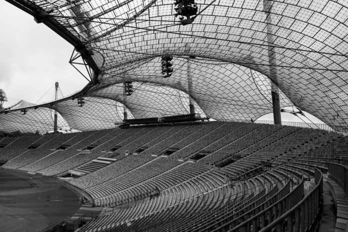 """Estadio Olímpico de Munich"" por Luis Argüelles. X-Pro1 + XF 18mm F2 R."