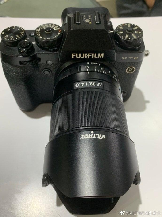 Viltrox 33mm f/1.4 para Fuji.