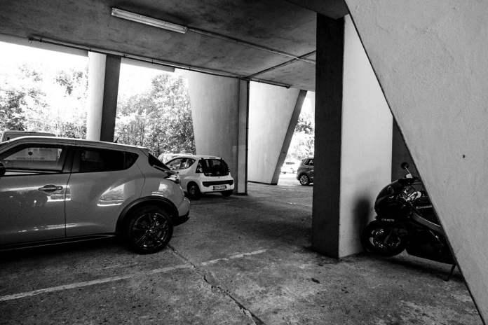 CorbusierHaus. Foto por Luis Argüelles. X-Pro2 + XF 14mm F2.8 R.