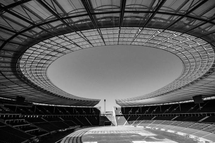 Estadio Olímpico de Berlín. Foto por Luis Argüelles. X-Pro2 + XF 14mm F2.8 R.