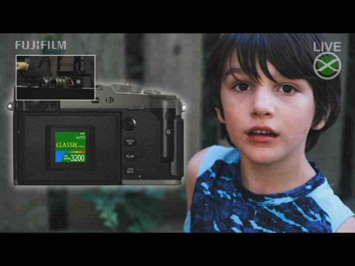 Simulación de película Classic Negative de la X-Pro3.