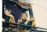 小学校4年生、山小僧でちゃんぎり 1992年10月24日