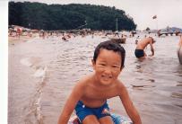 198608_img_0028(大島に海水浴 1986年8月6日)