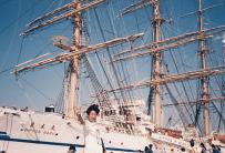 1996年5月12日 日本丸が蒲郡に寄港